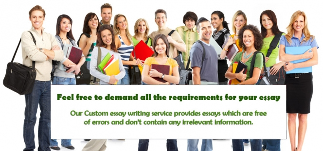 Custom essays writing service