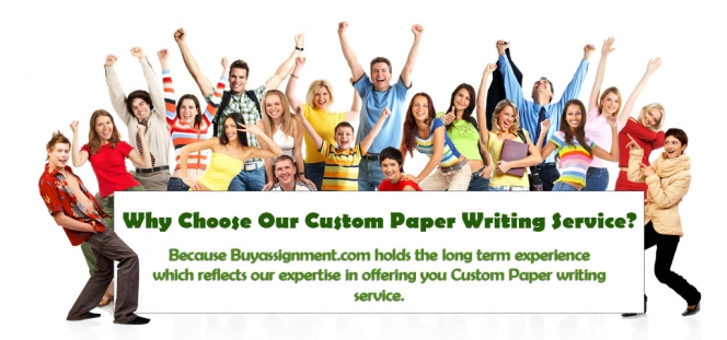 Custom paper writing online